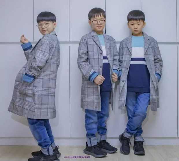 Daehan, Minguk, Manse lớn phổng phao ở sinh nhật 9 tuổi, dự đoán sẽ cao tới 1m85! - Ảnh 3.