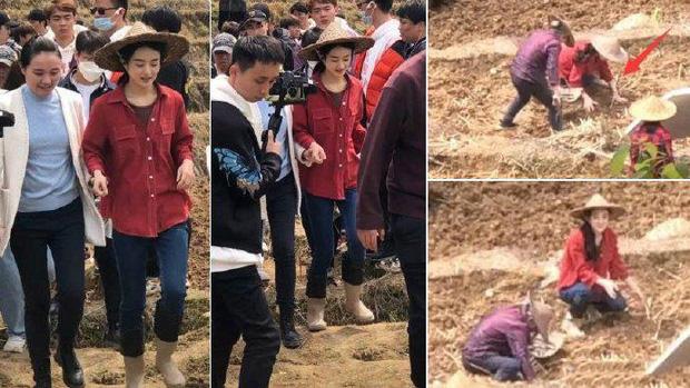 Netizen mắng Triệu Lệ Dĩnh quên nguồn cội vì không biết cày ruộng ở phim mới, visual bắt nắng cũng chả cứu nổi? - Ảnh 9.