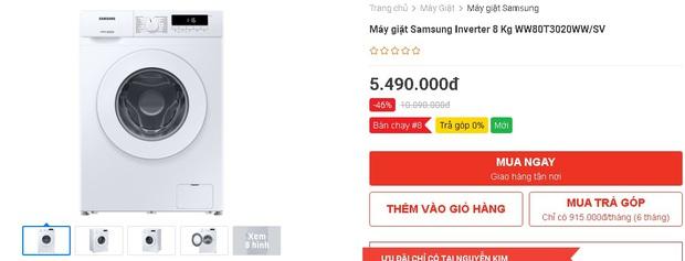 Nhiều máy giặt, máy sấy đang được sale mạnh, mua ngay tiết kiệm được bạc triệu - Ảnh 1.