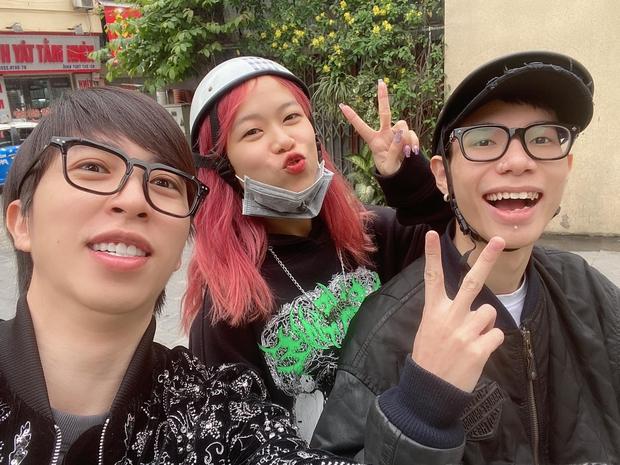 ViruSs ra Hà Nội hẹn hò ngay với cặp đôi MCK - Tlinh và người buồn nhất chính là GDucky - Ảnh 2.