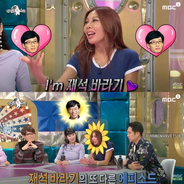 Jessi xứng danh trưởng FC Yoo Jae Suk: Sẵn sàng tung cước nếu ai dám chê nhan sắc idol! - Ảnh 1.
