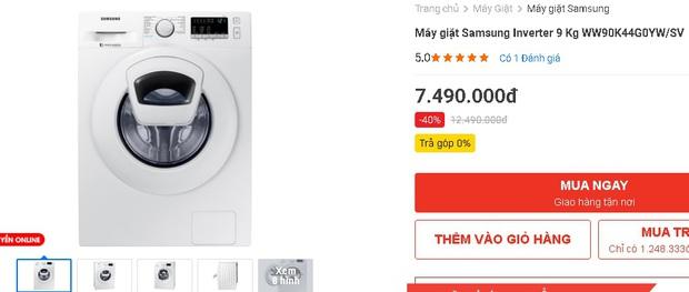 Nhiều máy giặt, máy sấy đang được sale mạnh, mua ngay tiết kiệm được bạc triệu - Ảnh 5.