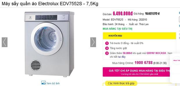 Nhiều máy giặt, máy sấy đang được sale mạnh, mua ngay tiết kiệm được bạc triệu - Ảnh 13.