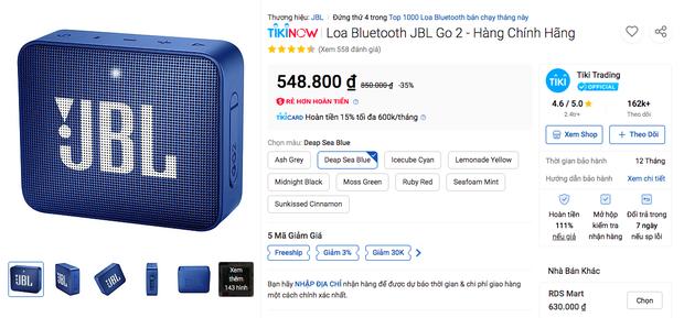 Loạt loa Bluetooth giá rẻ đang sale cực mạnh, hứa hẹn đốn tim dân chơi hệ music chỉ trong một nốt nhạc! - Ảnh 1.