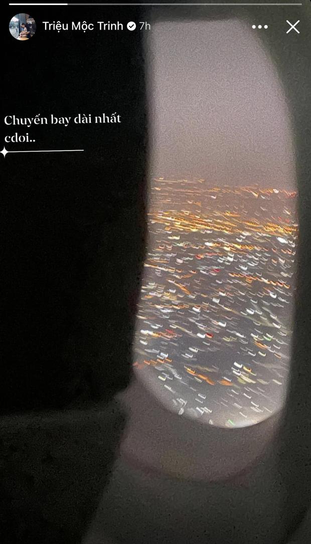 Chuyến bay dài nhất cuộc đời của bà xã cầu thủ Đỗ Hùng Dũng - Ảnh 2.