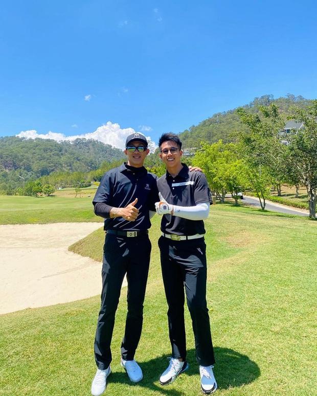 Bỏ mặc tin đồn tan vỡ, Matt Liu hết dắt bồ cũ của Hương Giang đi chơi golf, giờ lại đưa nhau vi vu - Ảnh 3.
