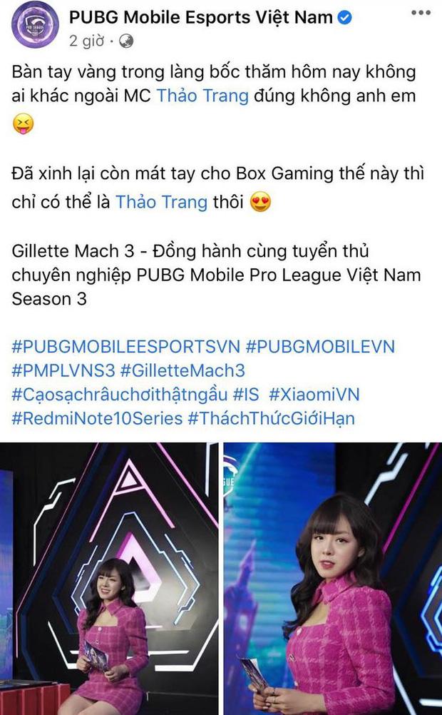 Xinh đẹp, tay thơm, nữ MC khiến cả làng PUBG Mobile Việt xôn xao khi xuất hiện - Ảnh 1.