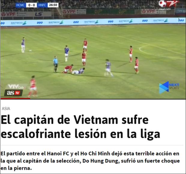 Báo chí nước ngoài ớn lạnh trước tình huống gây ra chấn thương của Đỗ Hùng Dũng, lo ngại cho tương lai của Đội tuyển Việt Nam - Ảnh 2.