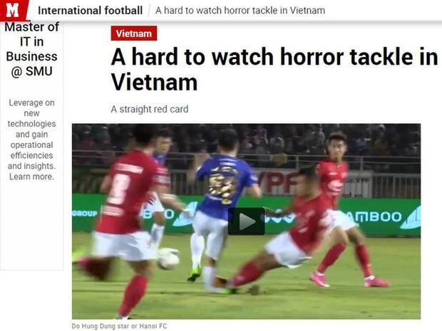 Báo chí nước ngoài ớn lạnh trước tình huống gây ra chấn thương của Đỗ Hùng Dũng, lo ngại cho tương lai của Đội tuyển Việt Nam - Ảnh 3.