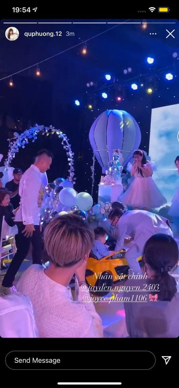 Ái nữ Minh Nhựa tổ chức tiệc sinh nhật xa hoa cho quý tử 1 tuổi, dàn khách mời toàn những người giàu có nức tiếng - Ảnh 11.