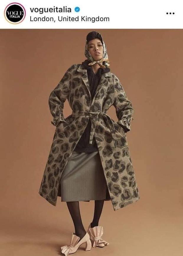 Phương Oanh Next Top sau 4 năm bị loại ấm ức: Trúng show lớn, được Vogue đăng ảnh, đóng quảng cáo với Hoàng Cảnh Du - Ảnh 3.