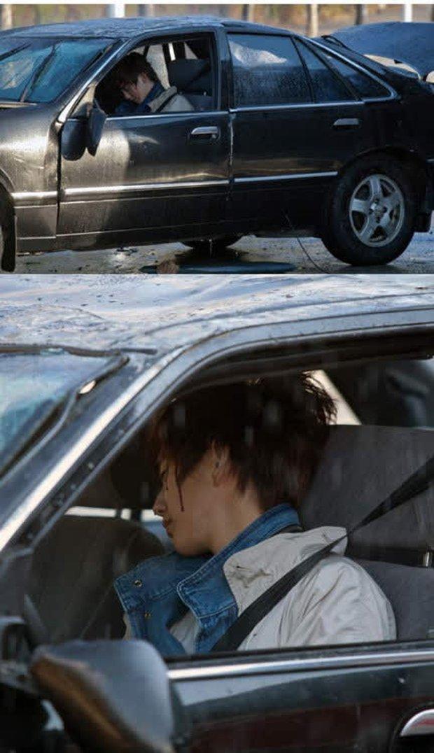 12 diễn viên Hàn Quốc suýt chết vì tai nạn giao thông: Lee Min Ho sợ phim hành động sau cú va chạm ở City Hunter - Ảnh 20.