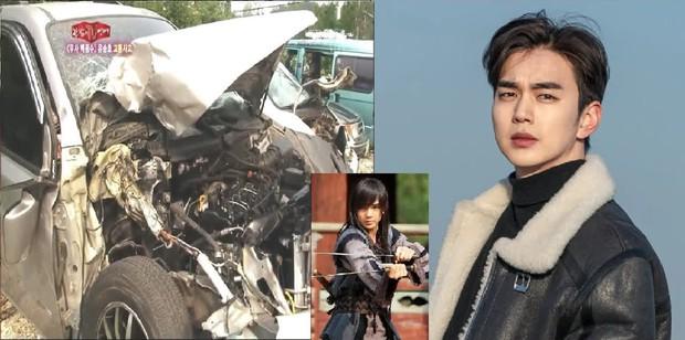 12 diễn viên Hàn Quốc suýt chết vì tai nạn giao thông: Lee Min Ho sợ phim hành động sau cú va chạm ở City Hunter - Ảnh 21.