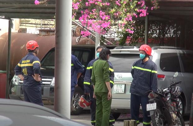 TP.HCM: Phong tỏa 1 cây xăng trên đường Nguyễn Kiệm, Gò Vấp - Ảnh 3.
