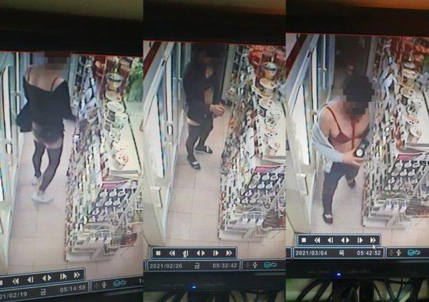 Phải lòng cô nhân viên bán hàng, gã đàn ông mặc cả nội y phụ nữ hở hang đến gặp người thương hàng chục lần suốt 3 tháng - Ảnh 3.