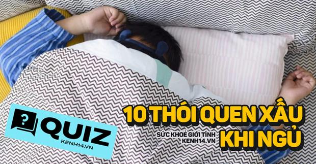 Quiz: 10 thói quen xấu trước khi đi ngủ cần tránh, bạn có mắc phải cái nào không? - Ảnh 1.