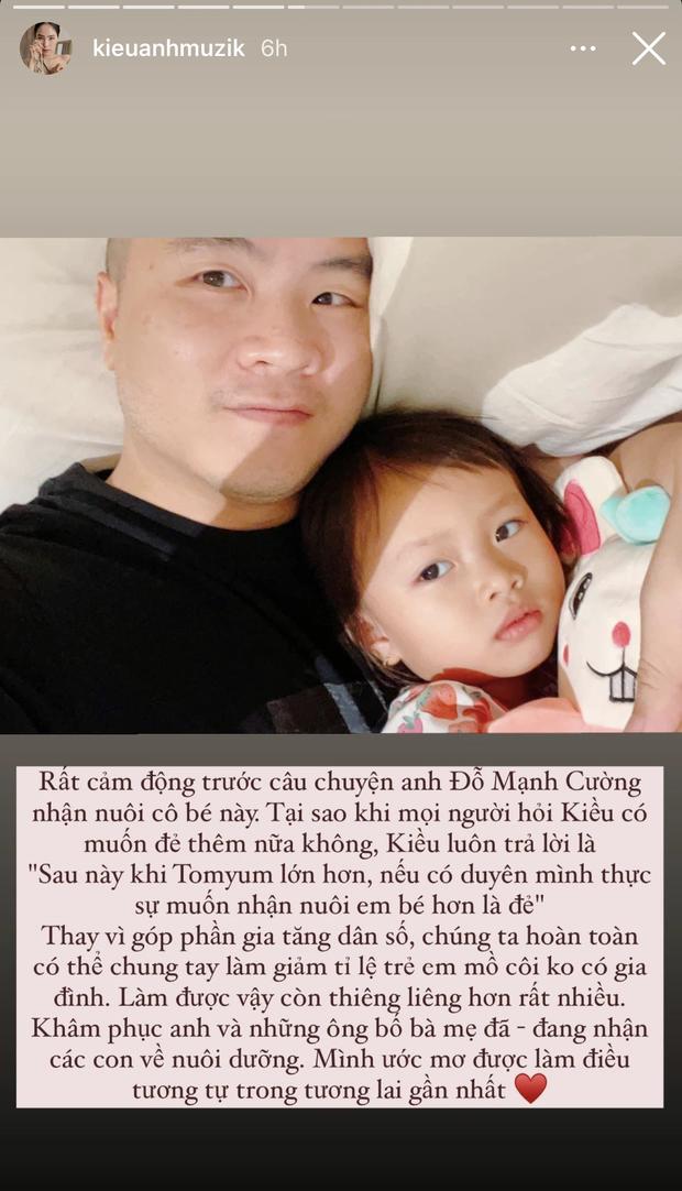 Ca nương Kiều Anh cảm động trước NTK Đỗ Mạnh Cường, tiết lộ nếu có duyên cũng sẽ nhận con nuôi - Ảnh 2.