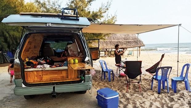 Trào lưu du lịch mobihome nở rộ ở Việt Nam, xuất hiện hàng loạt chiếc xe đẹp mê mẩn khiến hội ưa xê dịch không thể ngồi yên - Ảnh 5.