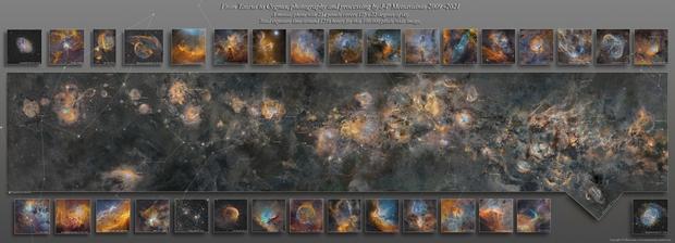 Chiêm ngưỡng bức ảnh Dải Ngân hà 20 triệu vì sao được tạo ra trong suốt 12 năm - Ảnh 2.