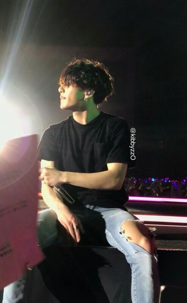 Fan đi concert bắt trọn visual đời thực của idol Kpop cự ly gần: Vóc dáng đỉnh cao nhưng có đẹp như trong MV? - Ảnh 19.