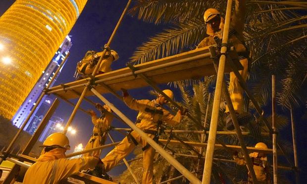 Hơn 6.500 công nhân chết vì xây dựng cơ sở hạ tầng ở Qatar, tuyển Na Uy mặc áo tẩy chay chủ nhà World Cup 2022 - Ảnh 4.