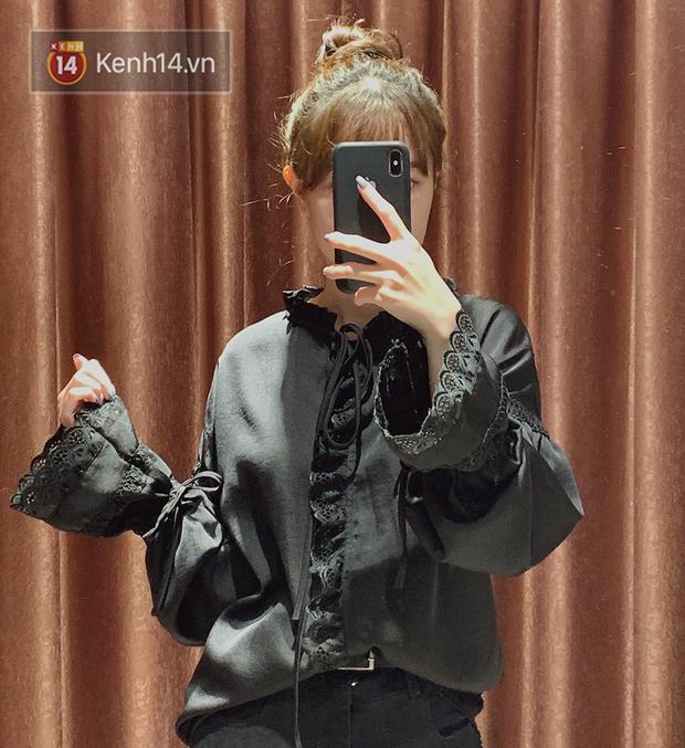 Nghe bảo Hà Nội sắp nắng ấm, mình đã ghé các shop tìm áo blouse bánh bèo bao xinh giá chỉ từ 230K - Ảnh 8.