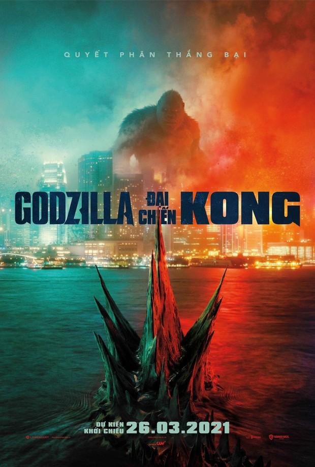 Nhờ đâu bom tấn quái vật Godzilla vs. Kong lập kỷ lục vượt mặt Bố Già của Trấn Thành trong ngày đầu công chiếu tại Việt Nam? - Ảnh 1.