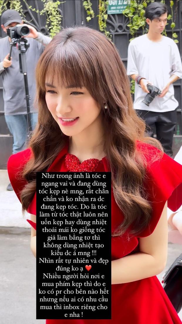 Bắt chước Hòa Minzy hack tóc dài bồng bềnh với tóc kẹp thần thánh giá chỉ từ vài trăm - Ảnh 3.