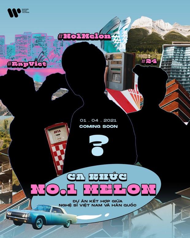 Xôn xao màn kết hợp Việt - Hàn đỉnh của chóp: Rapper No.1 nhạc số Kpop kết hợp cùng nhân tố Rap Việt và 1 nữ ca sĩ Vpop? - Ảnh 1.
