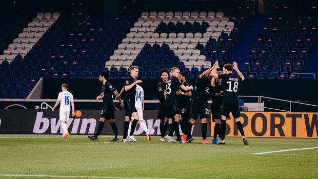 Tuyển Đức thắng dễ trận mở màn vòng loại World Cup 2022, mặc áo phản đối nhân quyền ở nước chủ nhà Qatar - Ảnh 3.