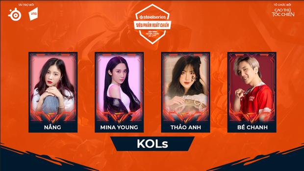 Minh Nghi tạm gác nghiệp MC để làm tuyển thủ Tốc Chiến một lần, cùng Mina Young lập team, úp mở đi SEA Games - Ảnh 3.