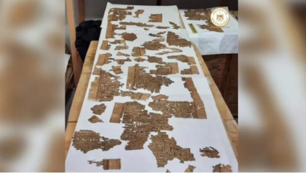 Khai quật hầm mộ cổ nghìn năm tuổi ở Ai Cập, tìm thấy Cuốn Sách Của Người Chết dài 4m - Ảnh 2.