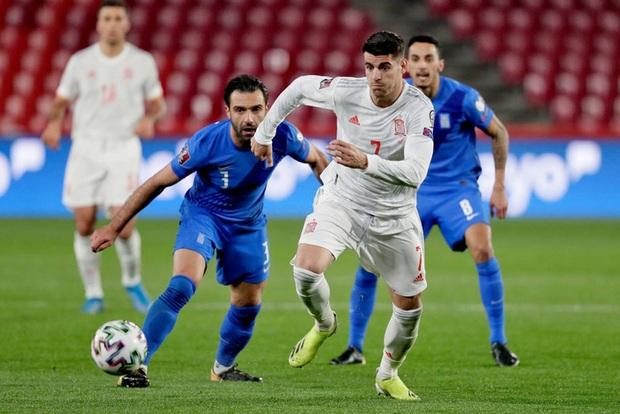 Thi đấu trên cơ hoàn toàn, Tây Ban Nha vẫn chia điểm với Hy Lạp ngay trận đầu vòng loại World Cup 2022 - Ảnh 6.