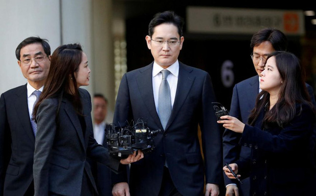Thái tử Samsung bị vỡ ruột thừa - Ảnh 1.