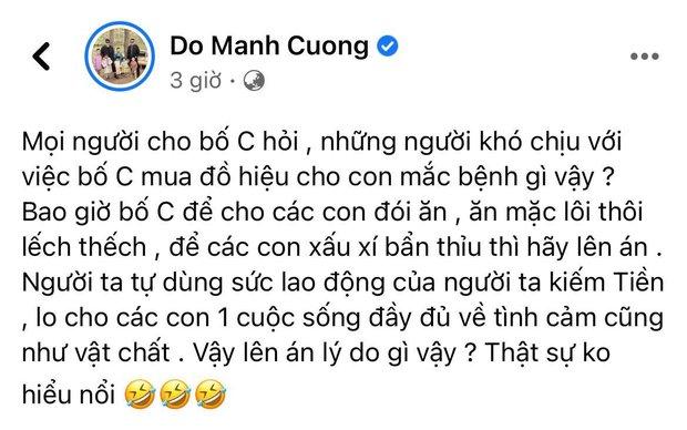 NTK Đỗ Mạnh Cường phải lên tiếng vì bị chỉ trích mua đồ hiệu cho con nuôi, Hồng Vân - Hari Won và dàn sao bức xúc thay - Ảnh 2.
