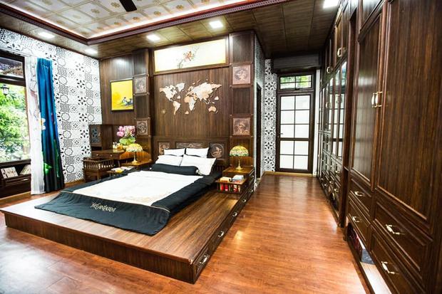 Kỷ niệm 15 năm ngày cưới, chồng tặng vợ ngôi nhà vườn kiểu Nhật, chi tiết gây shock nằm ở chất liệu, nhìn thì gỗ mà lại không phải gỗ?! - Ảnh 17.