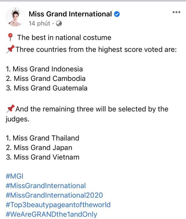 Chung kết Miss Grand International 2020: Đại diện Mỹ là tân Hoa hậu, Ngọc Thảo đạt thứ hạng bao nhiêu? - Ảnh 60.