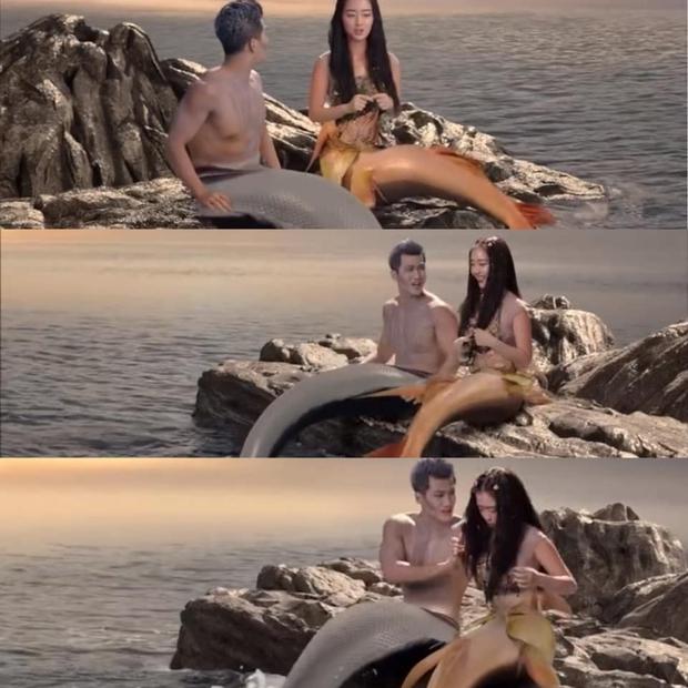 Netizen Việt hết hồn với kỹ xảo siêu thảm họa ở phim mới của Cổ Lực Na Trát, còn ví như tiên cá đóng hộp  - Ảnh 2.