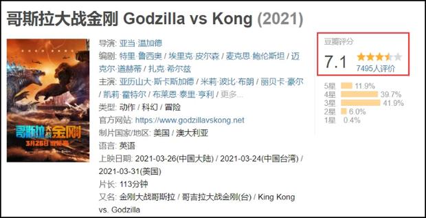 Godzilla vs. Kong gom 352 tỷ sau 1 ngày ở Trung Quốc, nhưng tức cười nhất là tên phiên âm của cặp quái thú? - Ảnh 3.