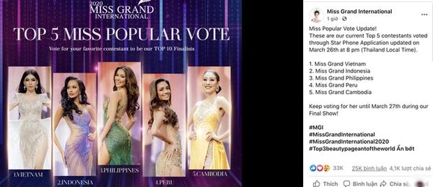 Trước giờ G, Á hậu Ngọc Thảo bất ngờ vươn lên đứng đầu BXH uy tín của Miss Grand International 2020: Chiếc vương miện ngày càng gần! - Ảnh 2.