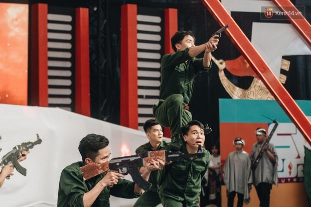 Chung kết SV 2020: Học viện Cảnh sát nhân dân chiến thắng, dàn sao khủng góp mặt cổ vũ - Ảnh 12.