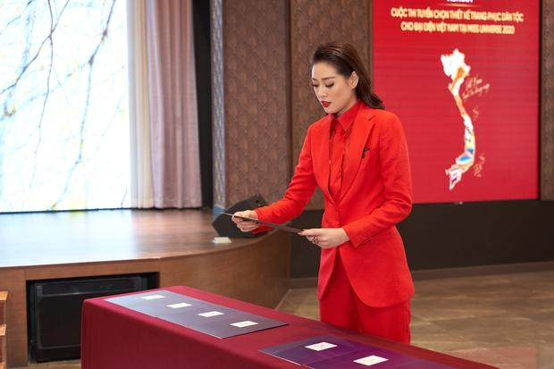 Chính thức lộ diện mẫu thiết kế trang phục dân tộc của Hoa hậu Khánh Vân tại Miss Universe 2020! - Ảnh 5.