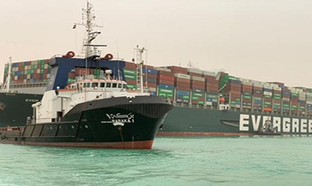 Ai Cập đang chạy đua với thời gian để khôi phục giao thông ở kênh đào Suez - Ảnh 1.