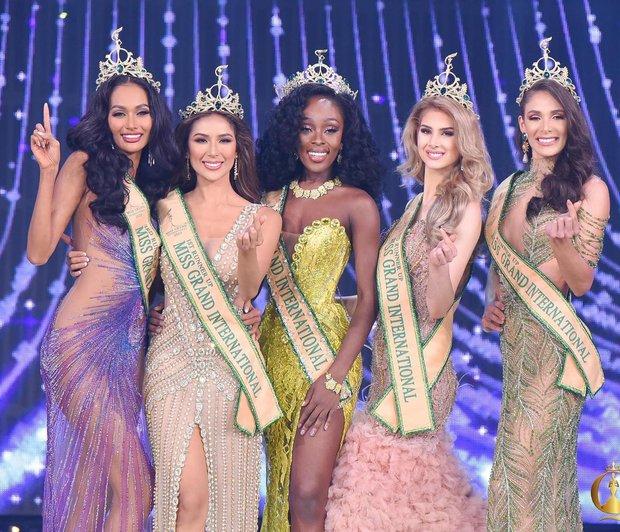 Chung kết Miss Grand International 2020: Đại diện Mỹ là tân Hoa hậu, Ngọc Thảo đạt thứ hạng bao nhiêu? - Ảnh 2.