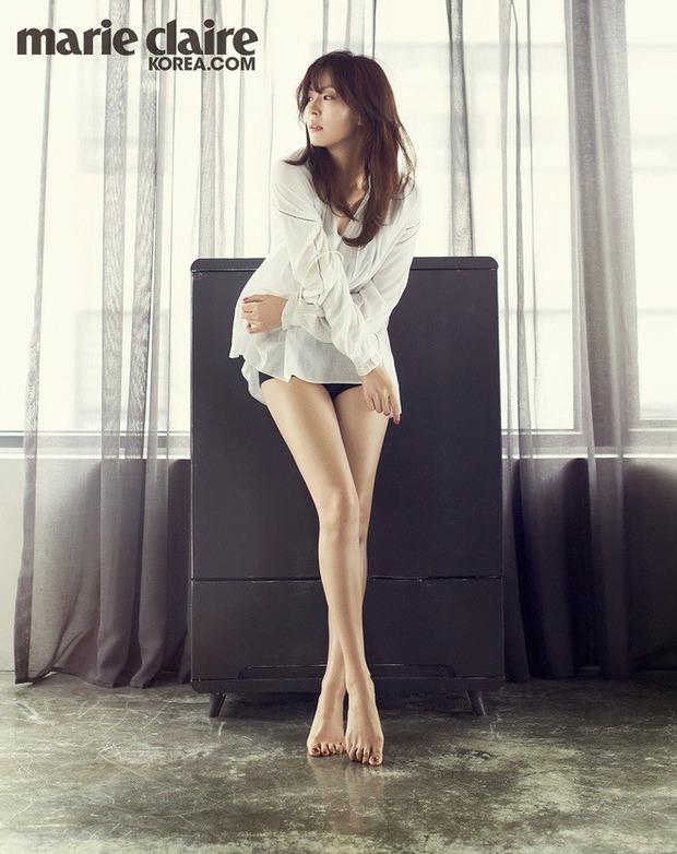 Tỷ lệ cơ thể ảo diệu của ác nữ Penthouse Kim So Yeon: Trông như 1m70, ai dè chiều cao thật gây ngỡ ngàng - Ảnh 2.