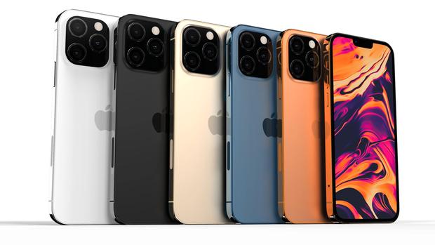iPhone 13 Pro Max lộ thiết kế siêu chỉn chu, thêm màu Đen nhám, Cam và Vàng đồng - Ảnh 2.