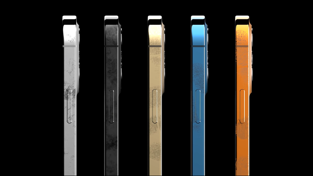 iPhone 13 Pro Max lộ thiết kế siêu chỉn chu, thêm màu Đen nhám, Cam và Vàng đồng - Ảnh 3.