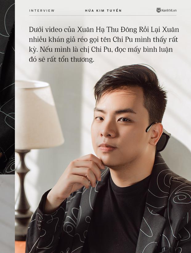 Hứa Kim Tuyền: Mình thấy rất kỳ khi khán giả réo gọi tên Chi Pu dưới video Xuân Hạ Thu Đông Rồi Lại Xuân - Ảnh 2.