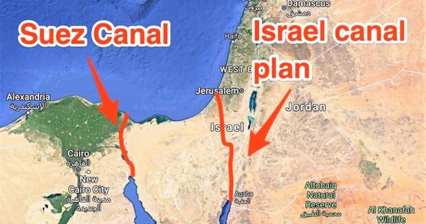 Mỹ từng có kế hoạch dùng 520 quả bom hạt nhân tạo một kênh đào thay thế Suez - Ảnh 1.