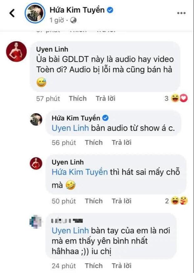 Hứa Kim Tuyền khoe 2 ca khúc nối tiếp thống trị iTunes, Uyên Linh vào bóc phốt luôn: Audio bị lỗi cũng bán hả? - Ảnh 2.